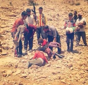 Dead bodies of children found in the desert