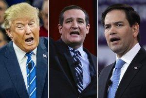Trump, Cruz, Rubio